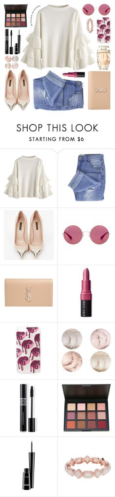 """beautiful day"" by jk802 ❤ liked on Polyvore featuring Taya, Louis Vuitton, Ray-Ban, Yves Saint Laurent, Bobbi Brown Cosmetics, Christian Dior, MAC Cosmetics and Cartier"