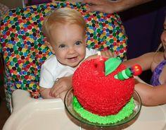 "Photo 2 of 18: The Very Hungry Caterpillar / Birthday ""Claire's Hungry Caterpillar Party"" | Catch My Party"