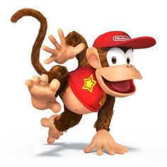 Diddy Kong - Super Smash Bros Wii U/3DS