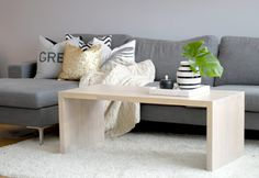 Our from Møbel. Entryway Bench, Couch, Interior, Table, Furniture, Home Decor, Blogging, Indoor, Homemade Home Decor