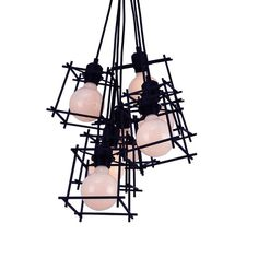 Find Cheap Designer Furniture Now Industrial Chandelier, Design Inspiration, Ceiling Lights, Retro, Lighting, Home Decor, Decoration Home, Light Fixtures, Room Decor