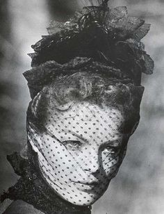Romy Schneider in Visconti's Ludwig (1972).