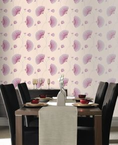 Graham and Brown Spirit Wallpaper-Charm 50-048 Pink/Cream