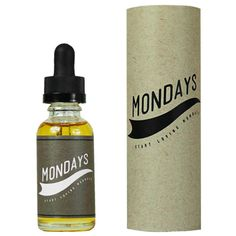 Something new to vape at eJuices.com: Mondays By CRFT E....  Find it online at: http://www.ejuices.com/products/mondays-by-crft-e-liquid-breakfast-donut?utm_campaign=social_autopilot&utm_source=pin&utm_medium=pin.
