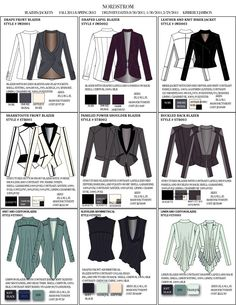 Line sheet examples by kimberly jamison at for Clothing line sheet template