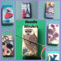 Magnetic Needle Minders  Handmade
