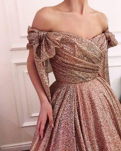 Love the draping, the neckline & the bows - Teuta Matoshi Duriqi