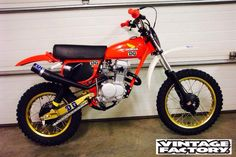 Honda XR75 I think?..