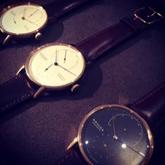 A sneak peak from the Nomos Glashutte collection. #LivefromBaselworld2015
