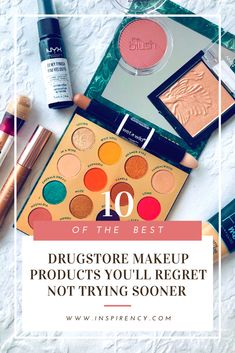 10 of my favorite makeup products that will help you create a full face of You can either do a beautiful or bronzy day makeup, or a rich, deep eye with these products. Ready to Best Drugstore Makeup, Makeup Dupes, Amazon Beauty Products, Best Makeup Products, Nyx Micro Brow Pencil, Latest Makeup Trends, Makeup Must Haves, Day Makeup