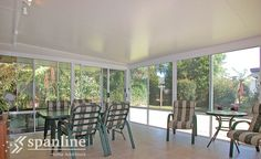 Whether it's a hot summers day, a frosty winter morning or pouring rain the solid polystyrene core in our Climatek® range of roofing and wall panels reduces noise and insulates you from the elements. Pergola With Roof, Pergola Shade, Carport Patio, Home Additions, Outdoor Areas, Sunroom, Valance Curtains, Custom Design, Wall
