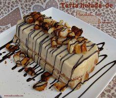 Horchata con fartons .. #tarta #helado #sinlactosa #milicocinillas