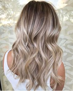 So many choices in blonde colors. Make sure your stylist has a clear idea of what you're looking for especially if you're looking for flawless hair extensions with color match!