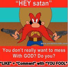 You fool