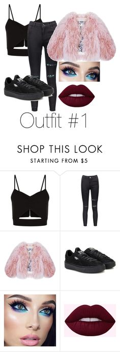 """""""Untitled #103"""" by halissiaelviracra on Polyvore featuring Racil, Florence Bridge and Puma"""