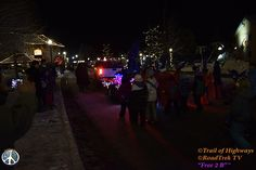 """Woodland Park, Colorado Christmas Parade. . The evening was rather pleasant, with a few inches of fresh snow mid day.  #Woodland #Park #Christmas #Parade #Community #Colorado #Organic #Marketing #TrailofHighways #RoadTrekTV  RoadTrek TV© All Rights Reserved """"Its Been a Most Excellent Adventure"""" https://trailofhighways.com/travelers-market/ https://www.facebook.com/RoadTrekTV/ https://twitter.com/TrailofHighways"""