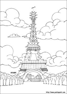 National Landmark Kids Coloring Pages Free Colouring ...