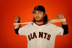 Brandon Crawford #35 of the San Francisco Giants poses for a portrait during spring training photo day at Scottsdale Stadium on February 27, 2015 in Scottsdale, Arizona. (February 26, 2015 - Source: Christian Petersen/Getty Images North America)