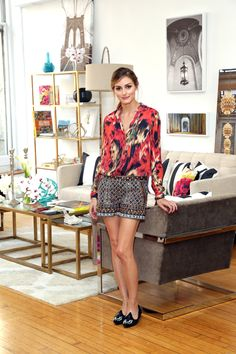 The fashion style star's tips on domestic bliss, PLUS see the fashionable living room she designed in NYC.