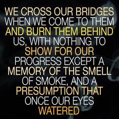 tom stoppard rosencrantz and guildenstern are dead   #stoppard #movingon #burningbridges