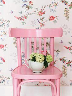 pastel pink chair chaise #pastel #pink #style #fashion #dunelondon