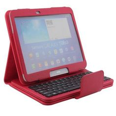 For Samsung Galaxy Tab 3 10.1 inch P5200 P5210 P5220 Removable Wireless Bluetooth Keyboard PU Leather Case Cover  — 1095.36 руб. —