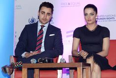 Imran Khan launched United Nations' Bollywood music video starring Celina Jaitley titled 'The Welcome'. Celina promotes UN's 'Free & Equal' campaign for the LGBT community. #Style #Bollywood #Fashion #Beauty