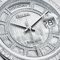 """Rolex Day-Date """"Sertie"""" #RolexOfficial #Mayors"""