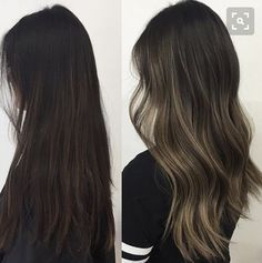 Image result for asian ash brown balayage