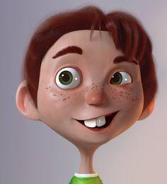 3D digital art characters....