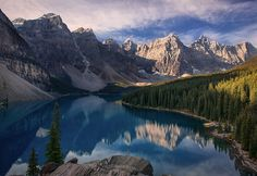 DAVE MC ELLISTRUM 500PX MORAINE LAKE, ALBERTA