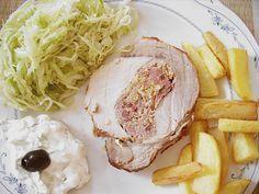 Spießbraten im Bratschlauch, ein gutes Rezept aus der Kategorie Schwein. Bewertungen: 66. Durchschnitt: Ø 4,5.
