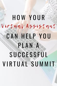 Having a VA assist you in planning and implementing a virtual summit is key in creating a successful and fabulous summit. Since the implementing process can be timely, I have given you 6 ways your Virtual Assistant can do most of the workload for you and all you have to do is show up the day of. Click here to read more. #manageanddelegate #systemsforbusiness #howtooutsource  #timemanagement #businessmanagement
