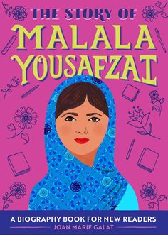 Discover the life of Malala Yousafzai—a story about standing up for education and equal rights Malala became a brave activist while still a young girl. Find out how she stood up for equal rights and became the youngest person ever to receive the Nobel Peace Prize. Invite the author to speak about her books at your school or library. (Virtual presentations available.) Book Club Books, The Book, New Books, Malala Yousafzai Biography, Biography Books, Right To Education, New Readers, Book Launch, S Stories