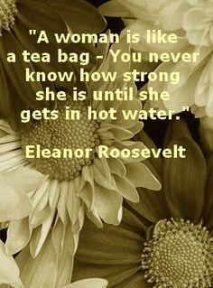 Eleanor Roosevelt. love this