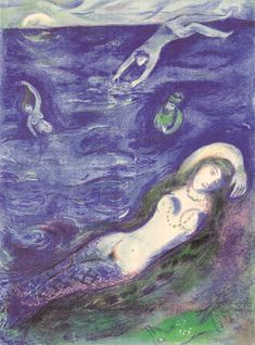 So I came forth of the Sea…, 1948, Marc Chagall