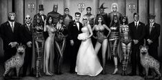 The Joker & Harley Quinn's wedding