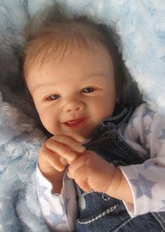 Reborn Baby Boy Doll Tommy *Sandy Faber*