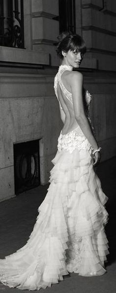 From work to wedding-- assuming work is on the Vegas Strip.    Cymbeline Wedding Dresses 2013 | VIPsAccess.com