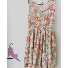 Brand-Chip Clip Sweet, size-medium       beautiful soft floral sun dress -$20.00 free shipping- link in bio      Payment via PayPal only. Purchases are shipped within 1-3 business days of payment via Japanese Standard Air Mail with no tracking unless notified to add tracking for additional cost. Air mail usually takes 7-10 days to arrive   Returns accepted-buyers responsible for return shipping