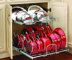 8 Kitchen Space Savers, eight Kitchen Area Savers Create extra space in your kitchen with these intelligent equipment. Create extra space in your kitchen with these intellige. Kitchen Pantry Design, Diy Kitchen Storage, Kitchen Cabinet Organization, Modern Kitchen Design, Home Decor Kitchen, Interior Design Kitchen, Home Organization, Home Kitchens, Kitchen Cabinets