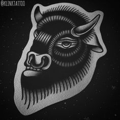 Bison #tattoodesign looks so amazing!