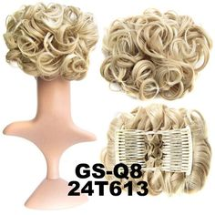18 Color Natural Hair Chignon Synthetic Hair Donut Two Plastic Comb Easy Fast Bun Coque Cabelo Brown Hairpiece Hair Bun Pad
