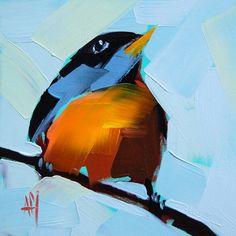Artwork Pop-up - Robin no. 50 Painting