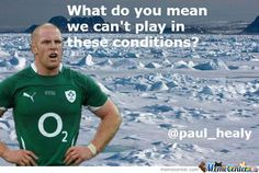 Paul O Connell's Reaction To The Postonment Of The France V Ireland Match Rugby Memes, Rugby Funny, Sports Memes, Rugby Quotes, Funny Irish Memes, Irish Jokes, International Rugby, Rugby Sport, Irish Rugby