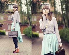 Morning Blues + Romwe Giveaway (by The Mad Twins -) http://lookbook.nu/look/3468671-Morning-Blues-Romwe-Giveaway