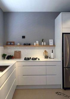 45 best kitchen backsplash ideas 2 - Kitchen - Home Sweet Home Farmhouse Style Kitchen, Rustic Kitchen, New Kitchen, Kitchen Ideas, Farmhouse Sinks, Kitchen Inspiration, Kitchen Hacks, Tomboy Inspiration, Modern Farmhouse