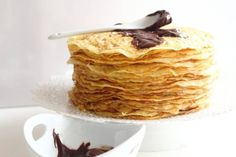 LOW CARB CREPES Low Carb Crepes are the best invention so far in our kitchen. It is eaten every time I make some. And it is a must after dinner deserts replacements. This recipe has Low Carb Crepes, Low Carb Desserts, Low Carb Keto, Almond Recipes, Keto Recipes, Dessert Recipes, Nutella, Keto Cupcakes, Keto Brownies