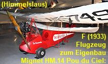 Mignet HM.14 Pou du Ciel: preisgünstiges Flugzeug zum Eigenbau von 1933 Ciel, Baby Strollers, Helicopters, Aircraft, Baby Prams, Prams, Strollers
