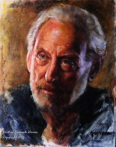 Game of Thrones Fan Art Lord Tywin Lanister Original by Krystyna81